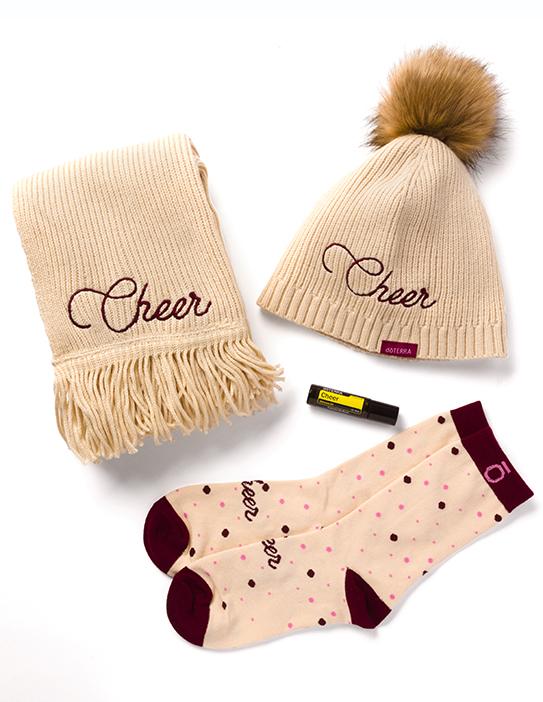 Holiday Cheer Set 48,75 kapa šal nogavice Touch Cheer