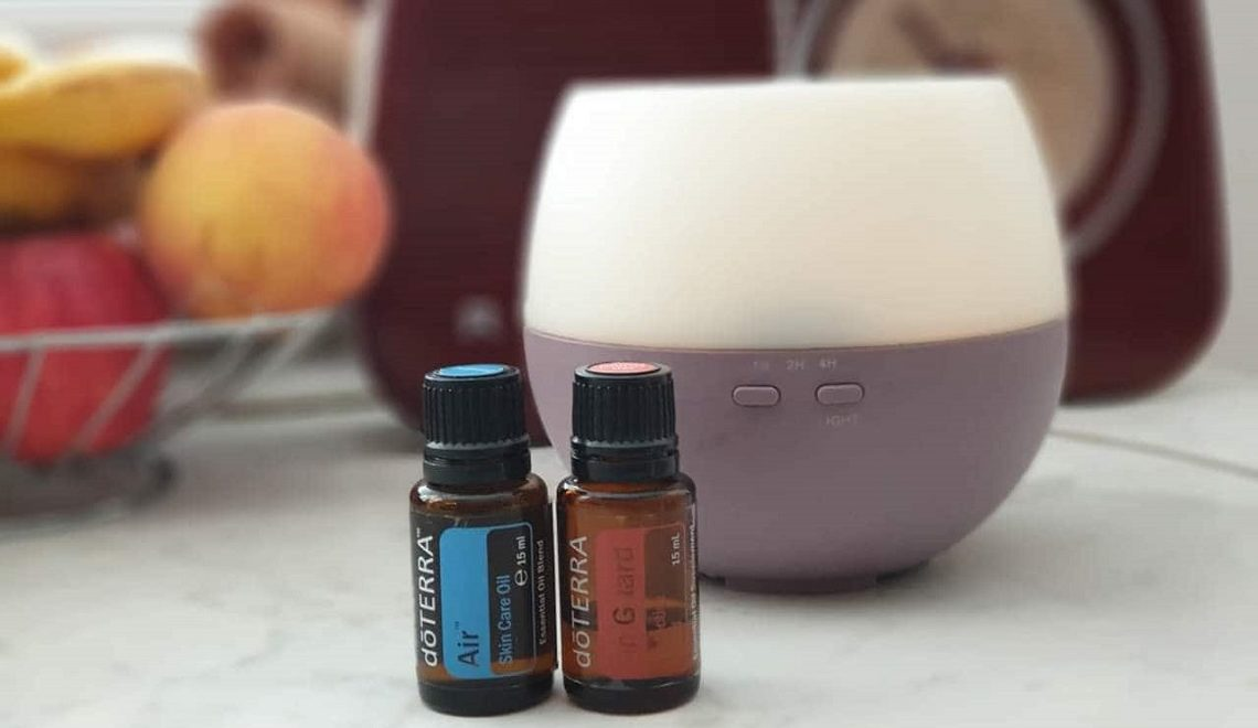 doterra on gurd air breathe petal diffuser difuzor