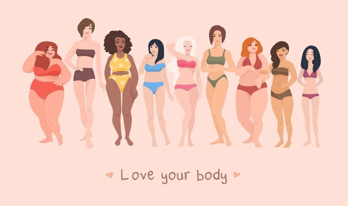 spošuj in ljubi svoje telo skrb za telo