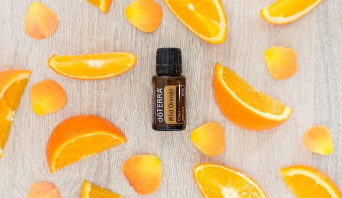 Eterično olje sladke pomaranče